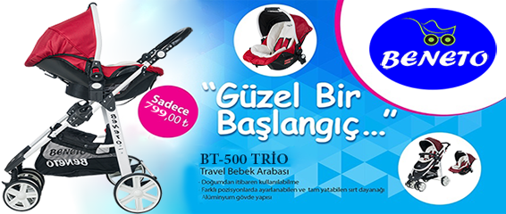 Beneto Bt-500 Trio Travel Sistem Bebek Arabası