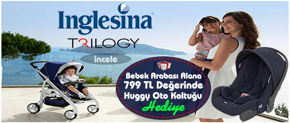 Inglesina Trilogy Travel Sistem Bebek Arabası