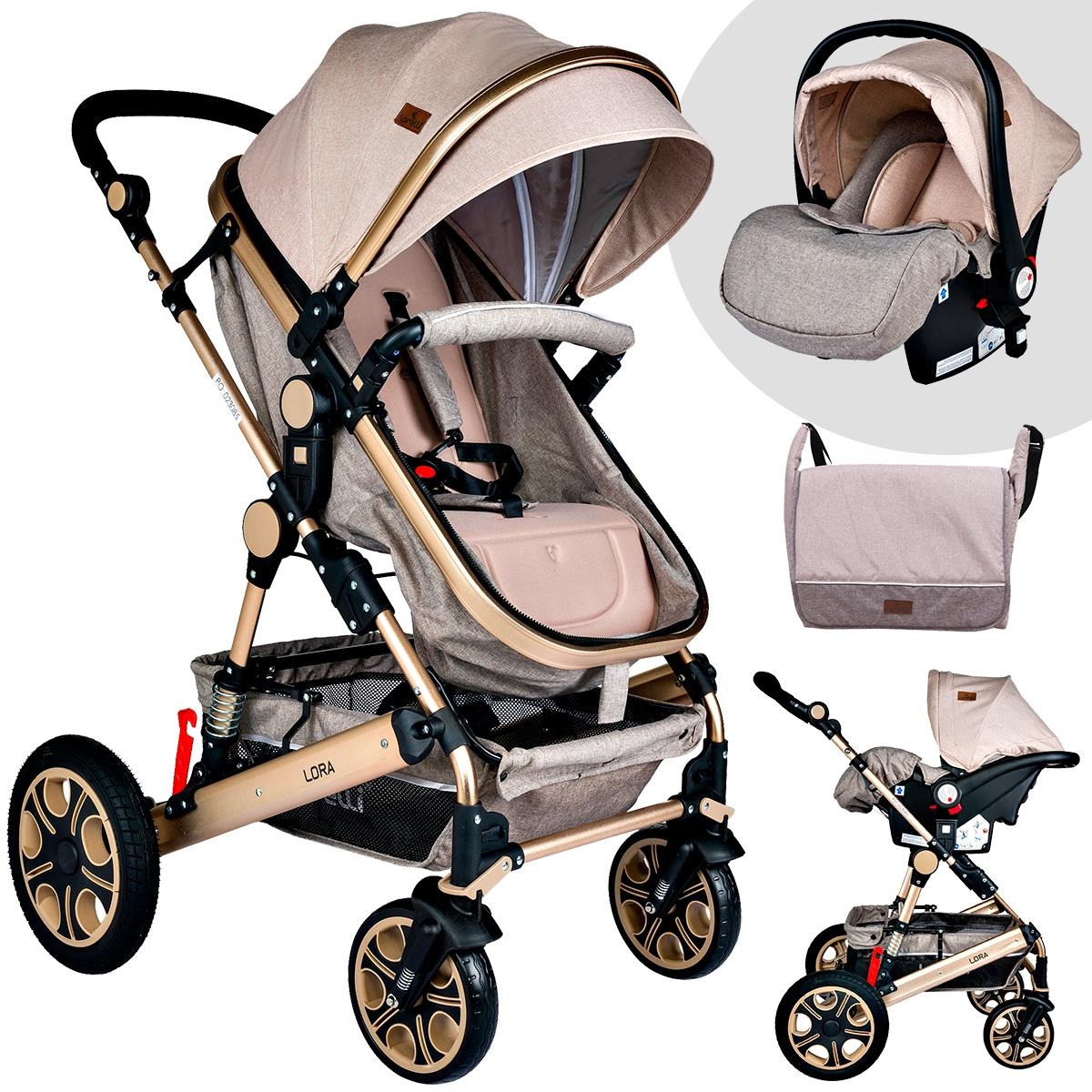 Fonksiyonel yeni bisiklet ve bebek arabası modelleri