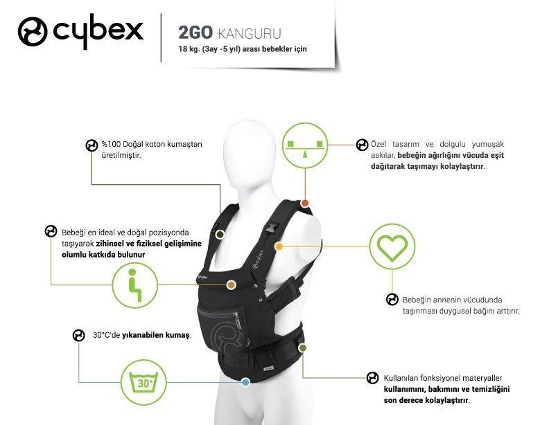 cybex my go zel bebek ta y c kanguru ayhan ocuk. Black Bedroom Furniture Sets. Home Design Ideas