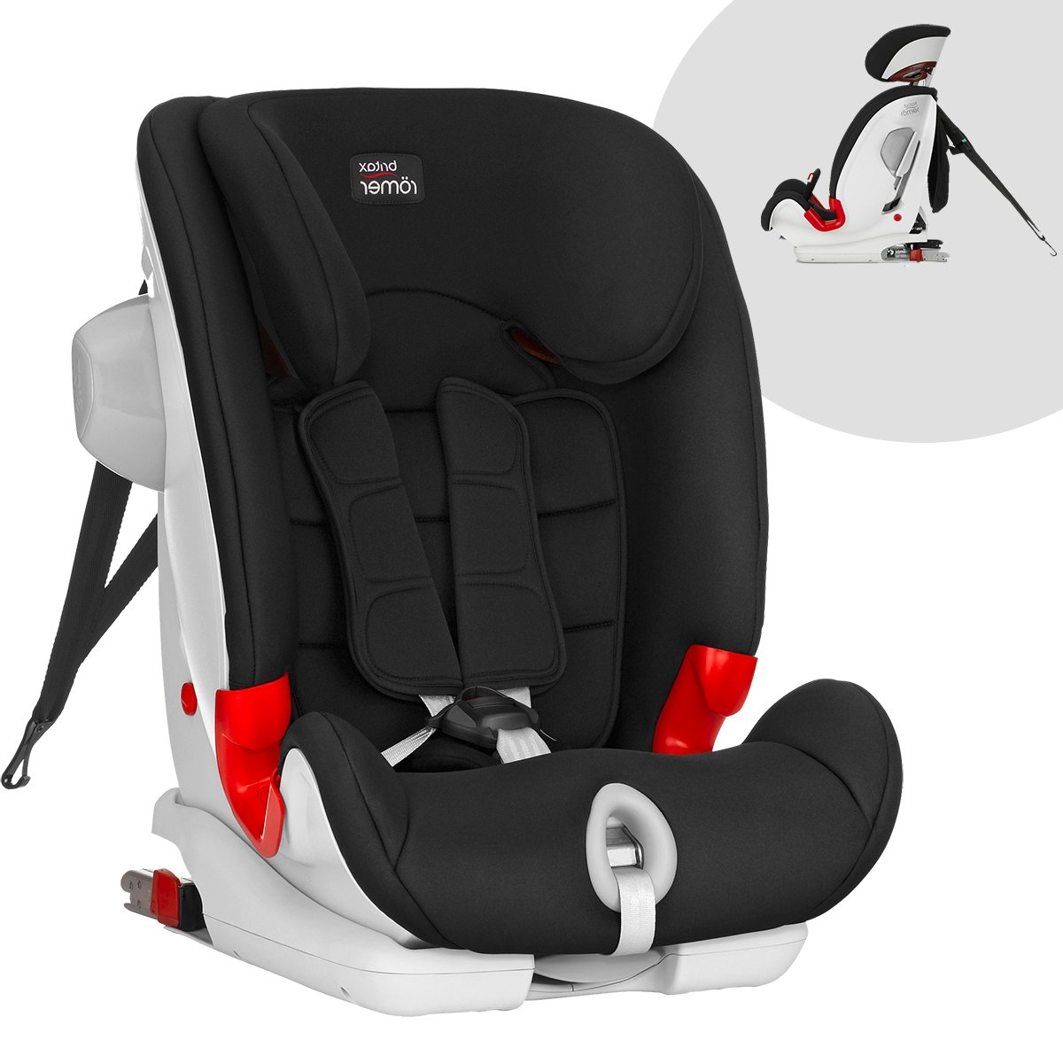 britax r mer advansafix 1 2 3 sict 9 36 kg isofix oto. Black Bedroom Furniture Sets. Home Design Ideas