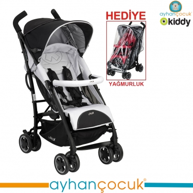 Kiddy Cıty'N Move  Lüx Baston Bebek Arabası