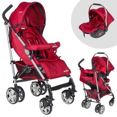 Beneto Bt-190 Travel Sistem Baston Bebek Arabası