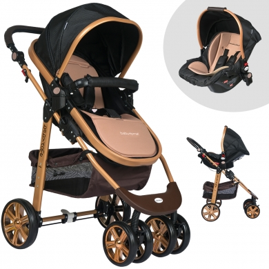 Baby Home Bh-500 Gold Comfort Travel Sistem Bebek Arabası