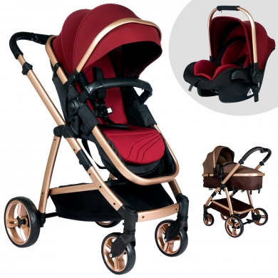 Baby Home Bh-955 Gold Vip Travel Sistem Bebek Arabası