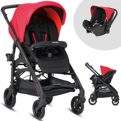 Inglesina Trilogy Colors Travel Sistem Bebek Arabası
