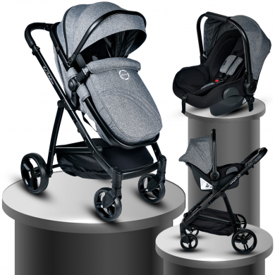Baby Home Bh-965 Challenger Black Travel Sistem Bebek Arabası